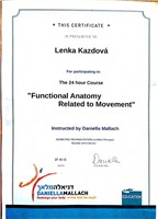 Funkční Anatomie (Functional Anatomy Related to Movement - Daniella Mallach)